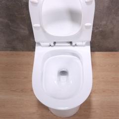 虹吸陶瓷抽水马桶普通家用坐便器节能连体坐厕卫浴装修工程座便器