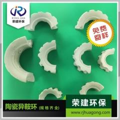 供应陶瓷异鞍环环保化工填料