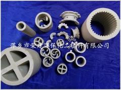 供应鲍尔环陶瓷环保化工填料 散堆填料