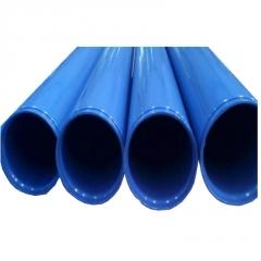 生产直销 内外涂塑钢管  涂塑复合钢管 法兰连接沟槽连接方式齐全