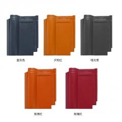 现货供应彩色西班牙瓦 可用于屋面屋顶 样式多样型号齐全