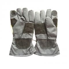 14款消防手套3C认证 隔热服手套 阻燃手套 加厚阻燃隔热抢险救援