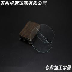 【厂家直销】 电子玻璃 超薄 小片钢化玻璃面板  触摸屏玻璃