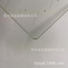通气孔钻孔高硼硅玻璃视窗防爆玻璃实验室台面玻璃