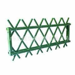 仿竹节护栏 竹子栅栏  草坪防竹护栏 花园仿竹子围栏