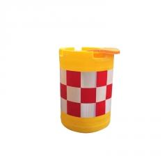 反光防撞桶高速公路防撞桶 道路安全防撞桶警示防撞桶