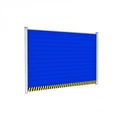 厂家直销 PVC围挡 定制安装 小草彩钢围挡 建筑工地施工围挡