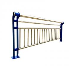桥梁护栏 不锈钢304复合管景观河道道路桥梁防护围栏栏杆灯光护栏