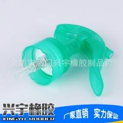厂家直销新款化妆品喷枪绿色化妆品泵头规格齐全