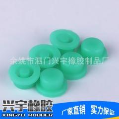 厂家批发供应绿色硅胶按钮 防水橡胶按键新款橡胶制品 品质保证