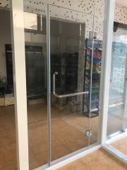 淋浴房夹丝玻璃 夹绢玻璃艺术玻璃厂家直销5加5夹丝玻璃定制