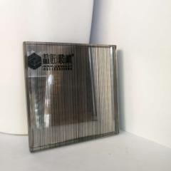 艺术玻璃厂家直销定制尺寸背景墙门窗玄关隔断夹丝玻璃批量优惠