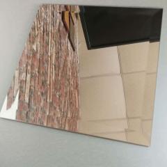 厂家直销有色单片玻璃镜子 白玻茶玻绿玻桌面钢化玻璃来图可定制