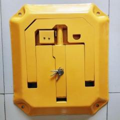 加厚抗压八角车位锁地锁 O型停车位锁 车库占位锁 源头厂家可定做