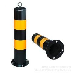 厂家定制 反光警示柱路桩 不锈钢防撞柱 安全隔离柱 道路设施路障