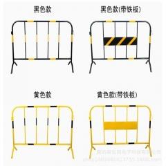 不锈钢铁马护栏 市政铁马护栏 移动施工安全防护隔离栏 施工围栏