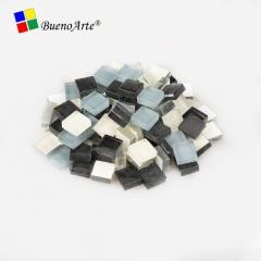 100克袋装1x1cm水晶马赛克儿童创意diy手工材料玻璃散粒业余美术