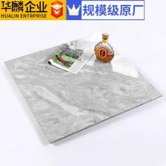 佛山瓷砖 爵士白通体大理石瓷砖800x800高档灰色客餐厅地板瓷砖