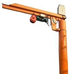 悬臂起重机定制小型旋臂吊起重机立柱式360度旋转独臂吊批发