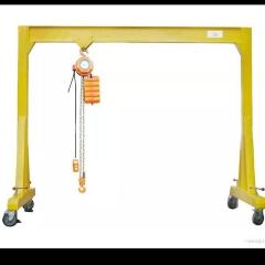 厂家直销手推升降可拆卸龙门架起重机 便携手推轻型 安装简单