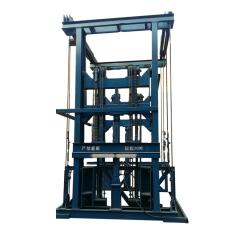 定做导轨式升降平台 导轨式液压升降机 固定式厂房货梯