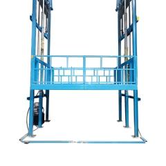 工厂液压升降货梯 导轨式液压升降平台  导轨式液压升降机