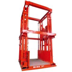 厂家定做液压升降货梯 导轨式升降平台 工厂货物升降平台