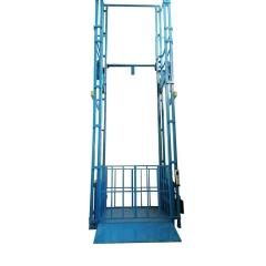 定做加工导轨式升降机 二层库房升降机 液压式货物升降平台