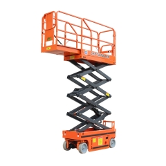 自行剪叉式升降机小6米 小型液压登高车 全自动高空作业平台厂家