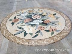 大理石石材拼图马赛克淋浴间卫生间酒店大厅地面鱼池景观水池园林