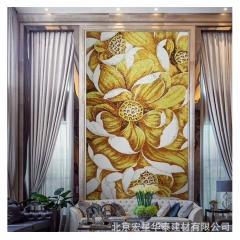 定制创意马赛克艺术拼图卫生间客厅拼花剪画定制电视背景墙卫生间