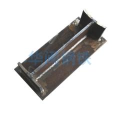 按图定制 地下通道预埋件天然气管托 钢板切割焊接打孔加工