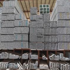 广东管材现货 Q235B 镀锌方管 矩形管 Q235B  加工定制  批发价格
