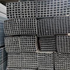 结构制管镀锌方管 食用机械镀锌方管 无缝矩形管加工定制工厂直销