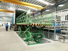 铝材厂大型液压升降台加大台面升降平台双排多层剪叉升降平台定制