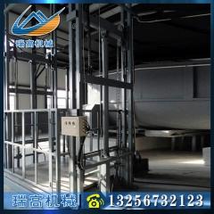 升降货梯液压导轨式电动升降平台 简易货梯固定式升降货梯