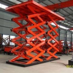 供应固定剪叉式液压升降机 仓储货物升降梯液压提升平台卸猪台