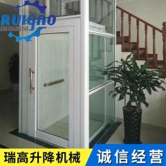 简易升降机 私人电梯定制 别墅电梯 家用小电梯 小型家用电梯