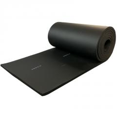橡塑海绵发泡板 b1级铝箔橡塑保温板 自粘屋顶防晒防冻隔热橡塑板