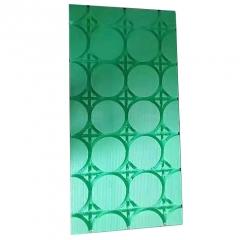 现货批发绿色地暖模块 干式免回填地热模块 小区装修专用地暖模块