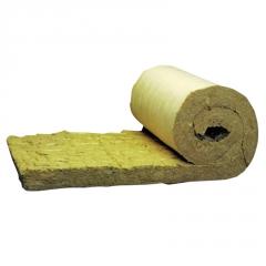 建筑外墙岩棉卷毡贴铝箔 管道保温隔热岩棉缝毡 防火防水岩棉卷毡