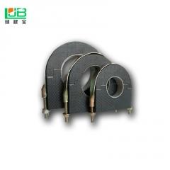 现货批发PE管托 空调管道防震隔热托马 pe管道支架橡塑保温托马