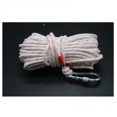 带钩户外救生绳安全绳高空防坠落绳索装备带钢丝防汛打捞绳