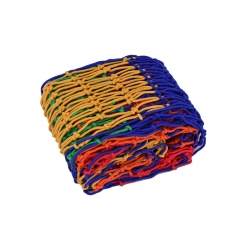 惠民绳网彩色尼龙防护网儿童阳台防坠网攀爬网幼儿园彩色装饰网