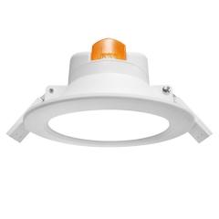 4寸LED智能微波雷达感应筒灯 走廊楼道小区 人体感应天花灯/崁灯