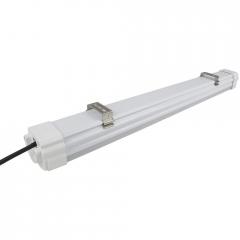 好美IP65防水车库照明灯 三防车库LED微波雷达感应带吊线灯具一体