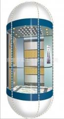 供应富士圆形观光电梯,电梯,不锈钢电梯,出口电梯