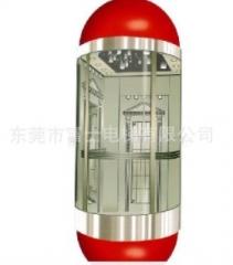 厂家直销亚太三洋品牌1000kg观光电梯,十大电梯品牌中日合资
