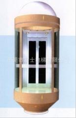 东莞富士电梯-湖南1吨电梯-湖南1吨观光电梯-商场室外观光电梯 1000KG