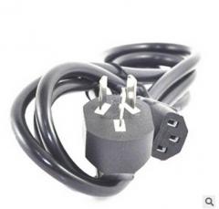 批发3C国标电源线 小南非插头电源线 电源插头线 电源线插头